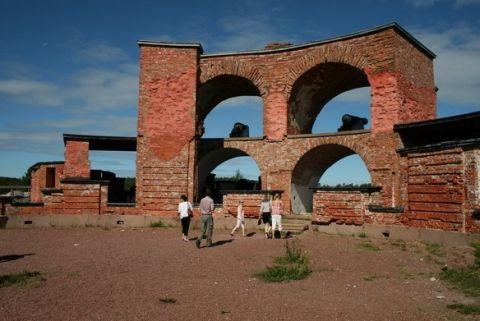 Image result for Русская крепость Бомарсунд Bomarsundin linnoitus